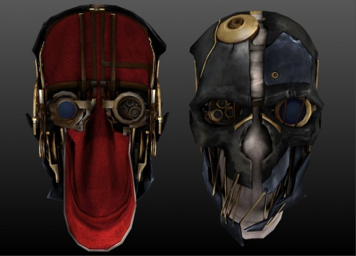 Как сделать маску из dishonored