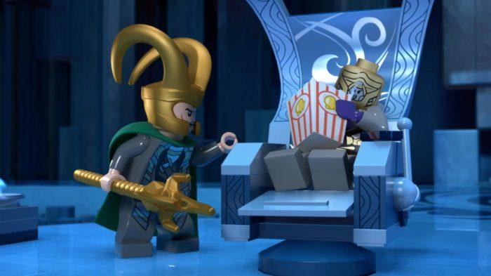 Локи в мультиках Лего