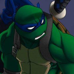 Леонардо изображение черпахи