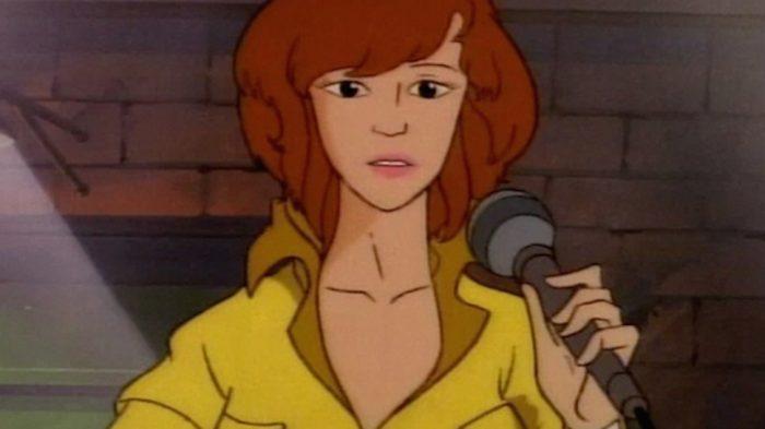 April O'Neil из мультсериала
