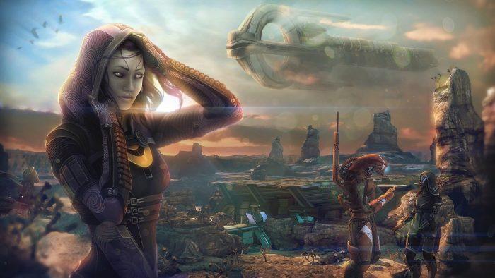 Тализора из видеоигры mass effect