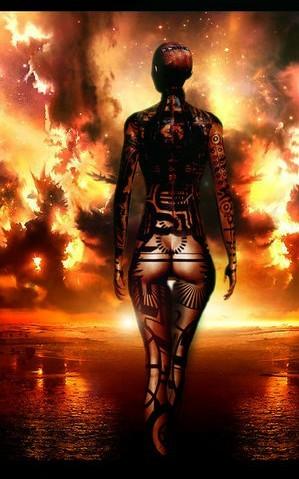 Картинки Джек из Mass Effect