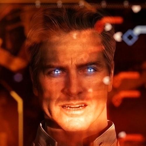 Призрак из игры Масс Эффект