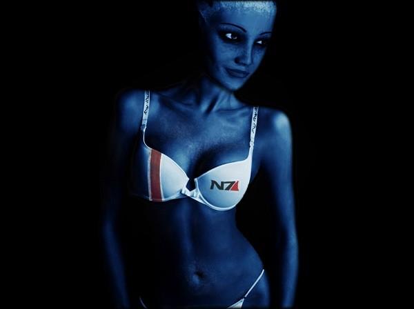 Картинки Лиары Т'Сони из Mass Effect