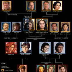 Древо семьи Соло
