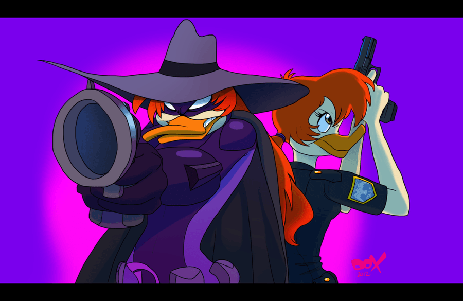 darkwing_double_team_by_pumpkinhiphop-d4r8cz9