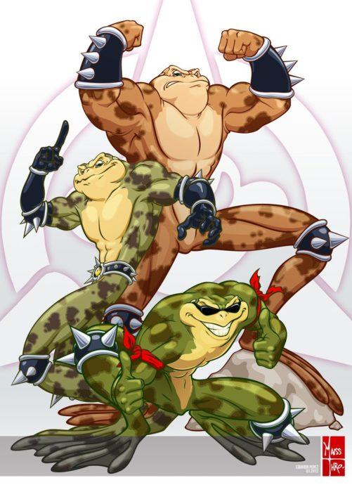 Картинки Боевые жабы