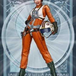Лея Органа из Звездных войн