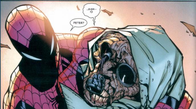 смерть Человека паука