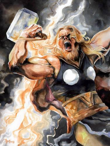 Тор из комиксов Марвел