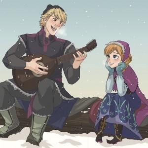 Анна и кристофф из Холодного сердца