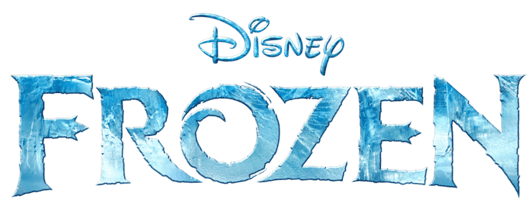 Frozen-title-treatment