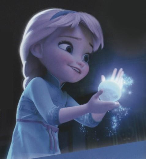 Маленькая Эльза из Холодного сердца