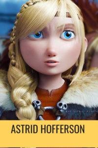 История викинга Астрид из мультика