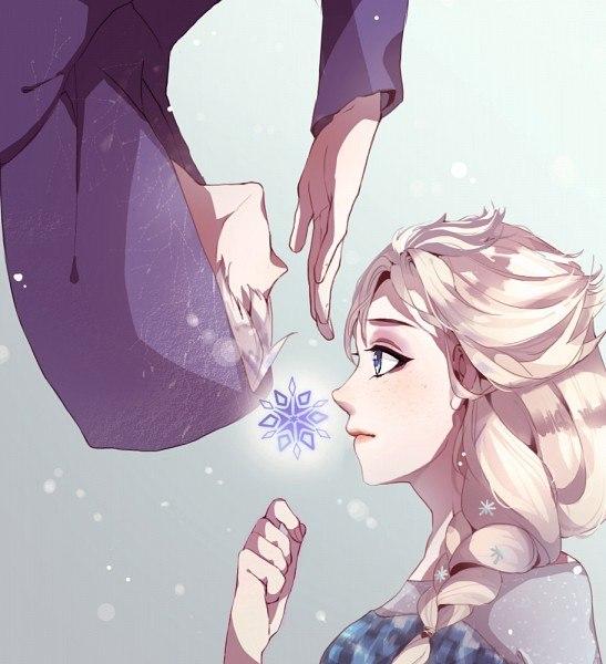 Джек Фрост и Эльза