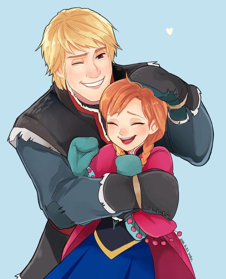 Кристофф и Анна из Холодного сердца