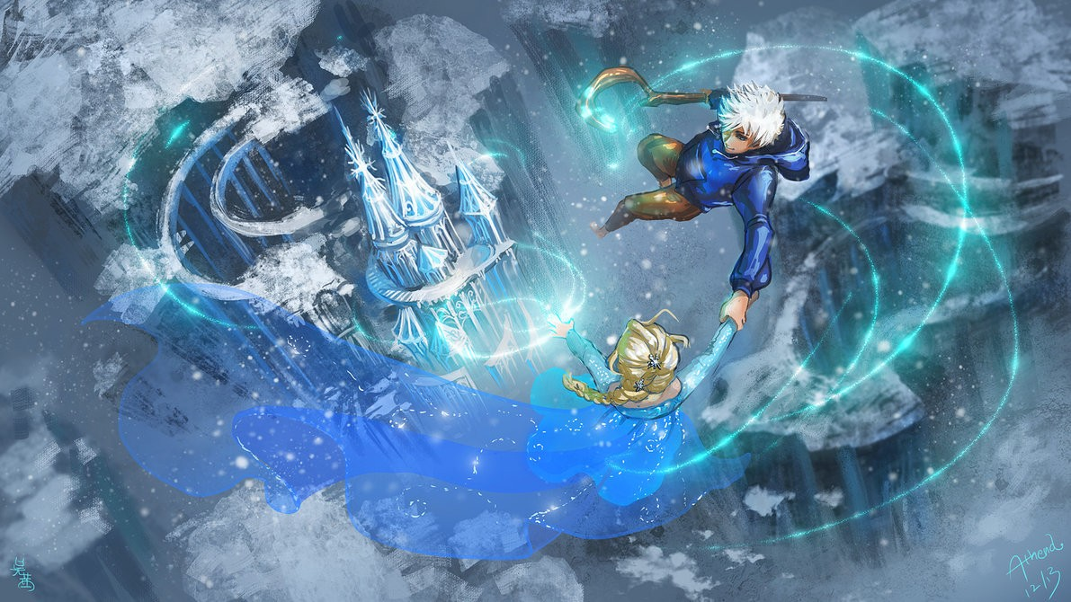 elsa_and_jack_frost_a_song_of_ice_and_frost__by_athena_erocith-d6xfeh1