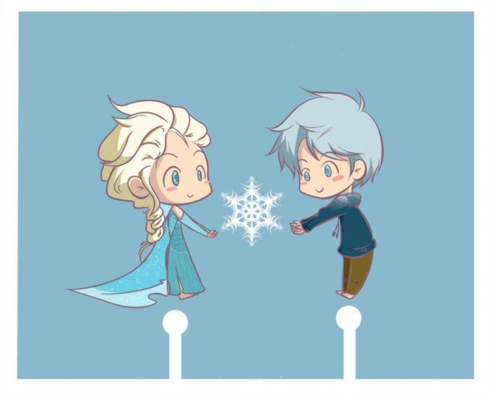 Звездная пара: Эльза и Фрост