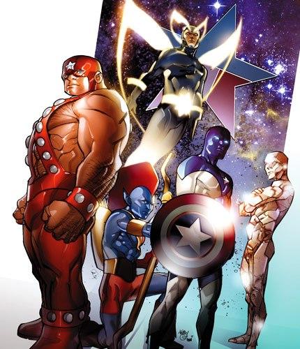 Стражи Вселенной из комикса