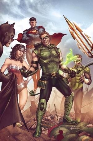 Зеленая стрела из комиксов