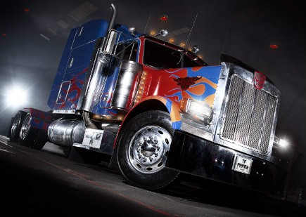 оптимус грузовик, прайм грузовик