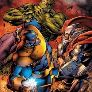 Танос против Мстителей