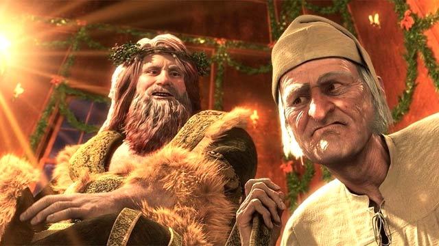 Эбенезер Скрудж и духи рождества