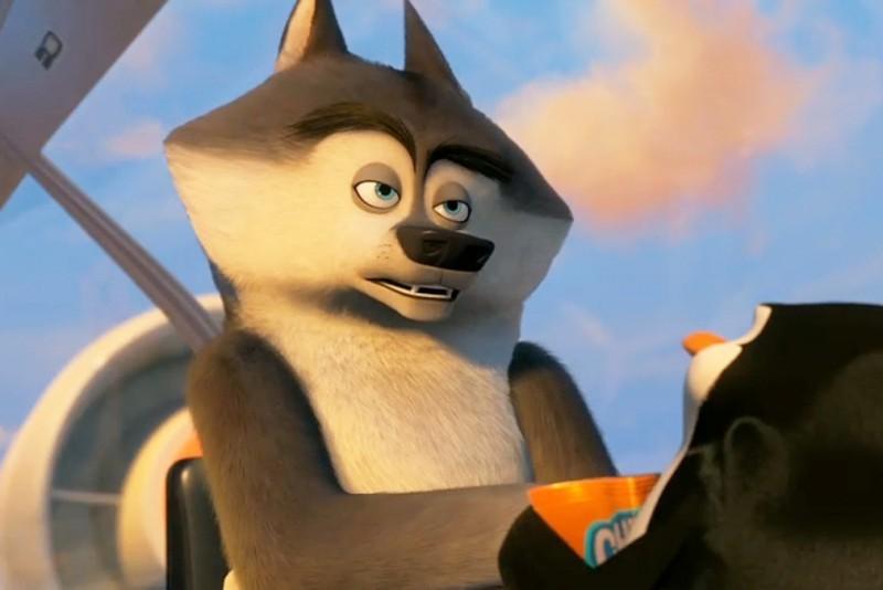 Волк Секрет, Пингвины Мадагаскара