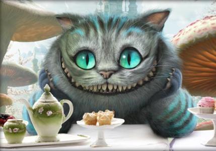 Чеширский кот из кино