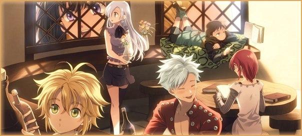 Семь смертных грехов аниме