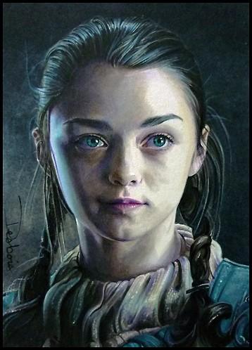 Арья Старк из сериала Игра престолов