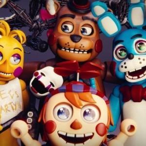Пять ночей у Фредди аниматроники
