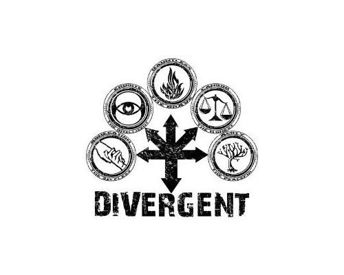 Значок Дивергент