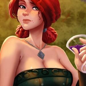 Трисс Меригольд из Ведьмака