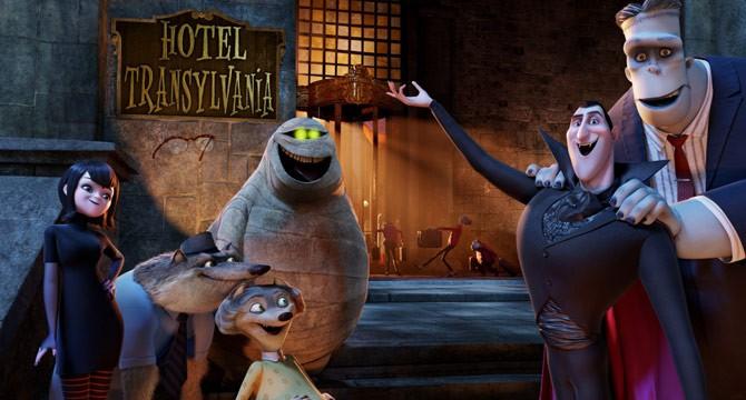 Граф Дракула из мультфильма Монстры на каникулах