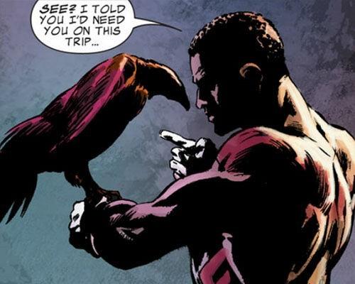 Сокол из комиксов Марвел