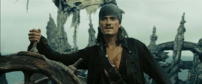 Уилл Тернер из Пиратов Карибского моря