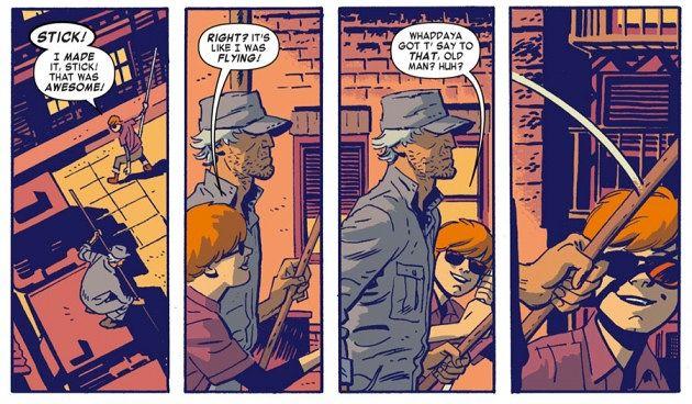 Сорвиголова из комиксов Марвел