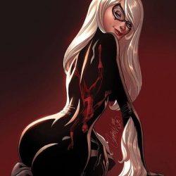 Черная кошка из комиксов Марвел