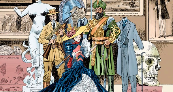 комикс Лига джентльменов