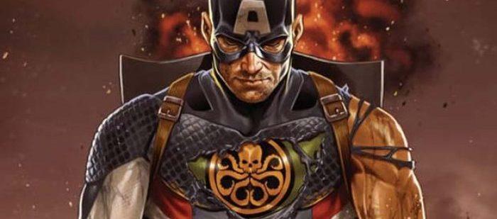 Капитан Америка на стороне Гидры