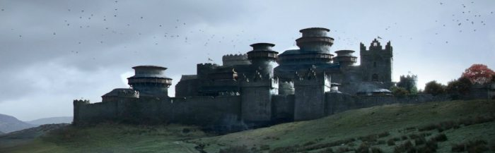 Замок Старков Винтерфелл