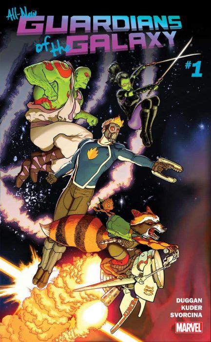 новые комиксы Стражи Галактики
