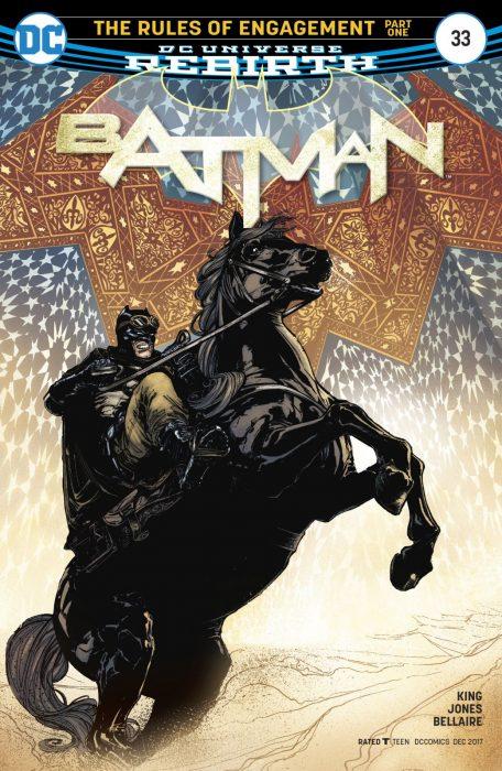новые комиксы про Бэтмена