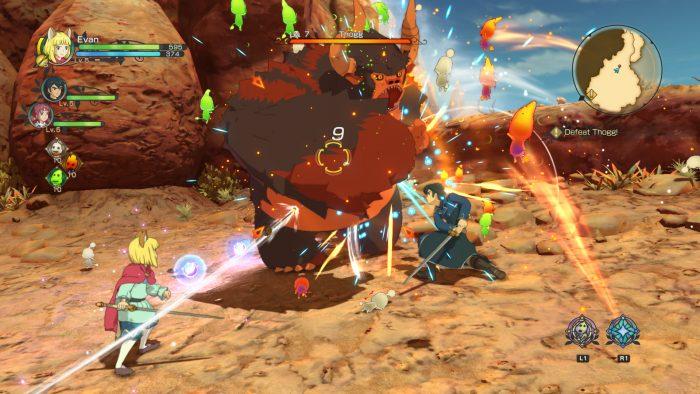 Геймплей игры Ni No Kuni II