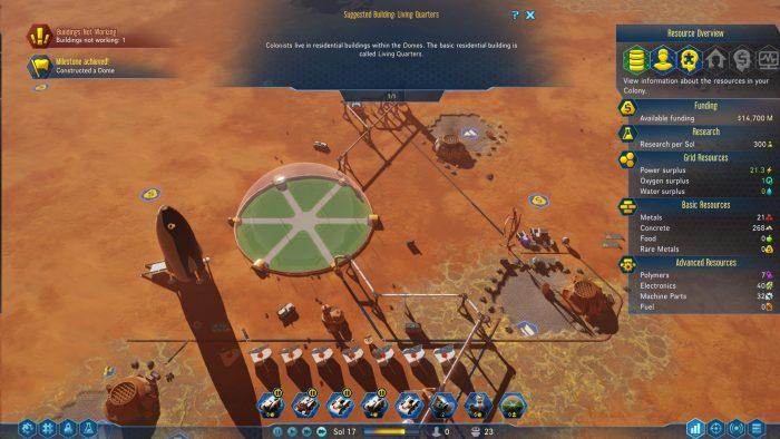 Surviving mars геймплей игры