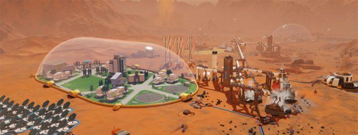 Surviving mars симулятор
