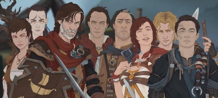 Ash of God главные герои