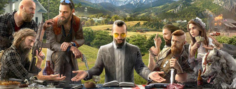 Сюжет в игре Far Cry 5