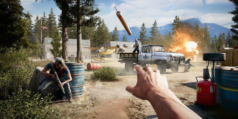 Геймплей в Far Cry 5